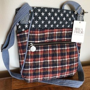 Bella Taylor Quilted American Crossbody